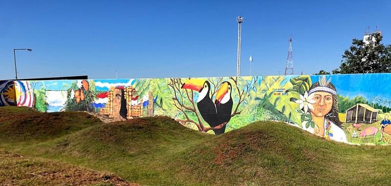 mural - Tucanes