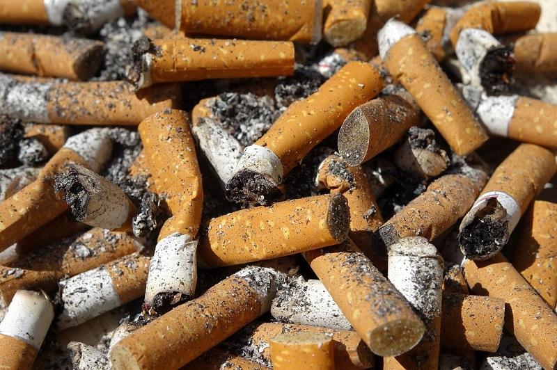 protegidas - Colillas De Cigarrillo