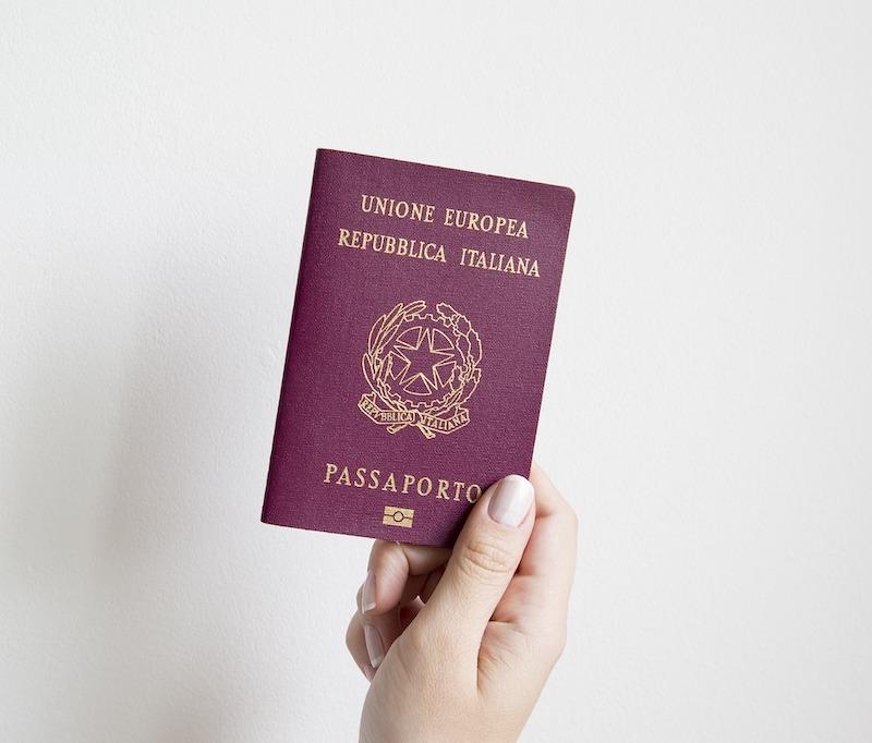 ciudadanía italiana - Passaporto