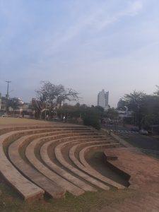 Teatro misionero - escenario