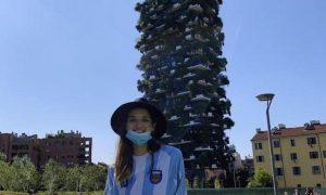 misionera - Valentina Con Remera Argentina