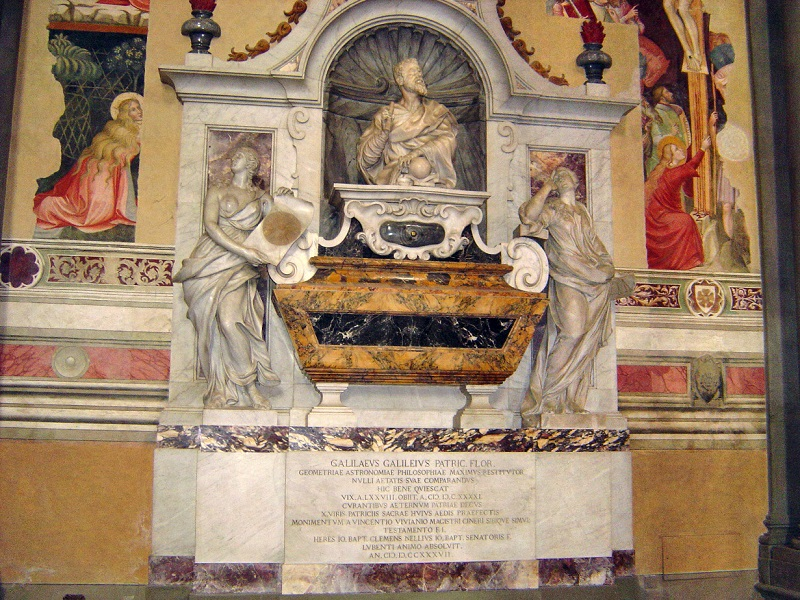 Galileo - tumba