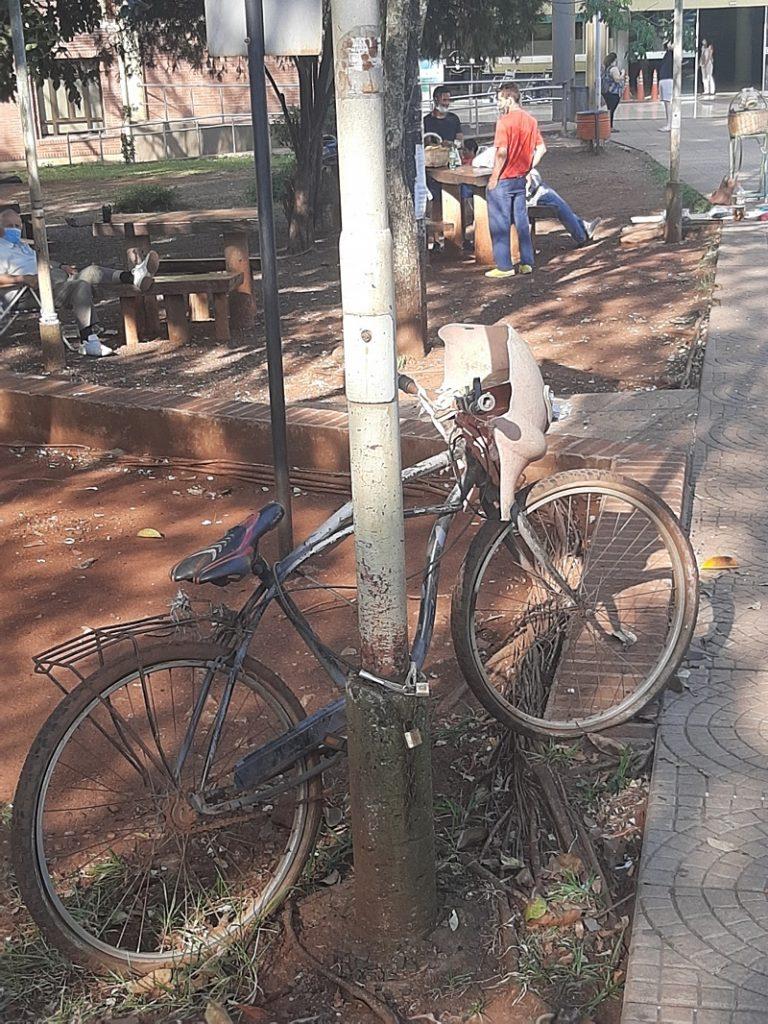 leyendas misioneras - bicicleta