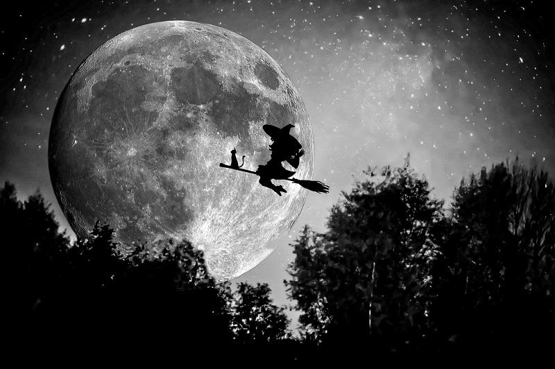 brujas - vuelo