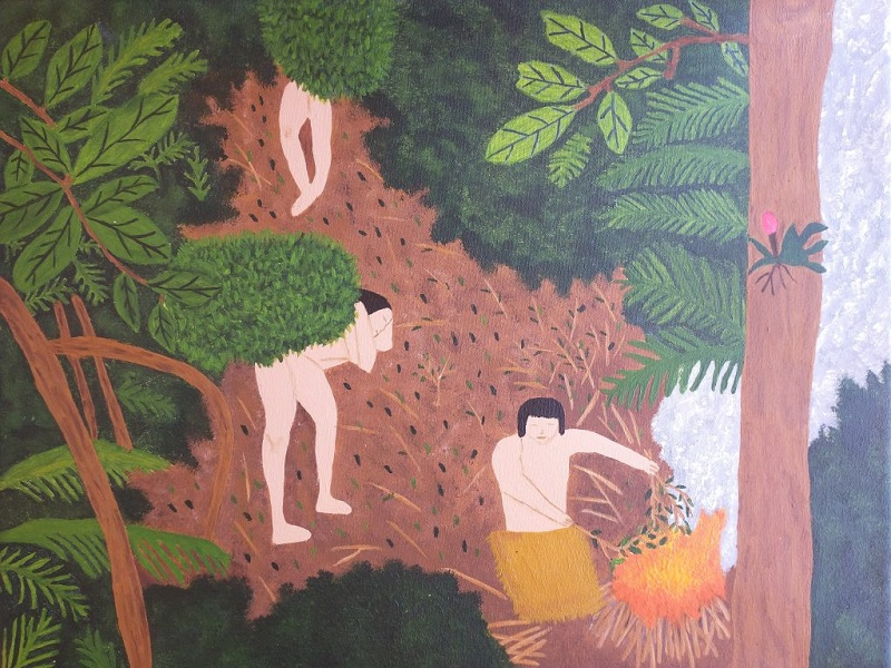 Juegos Culturales Evita - Pintura Renzo David Coimbra