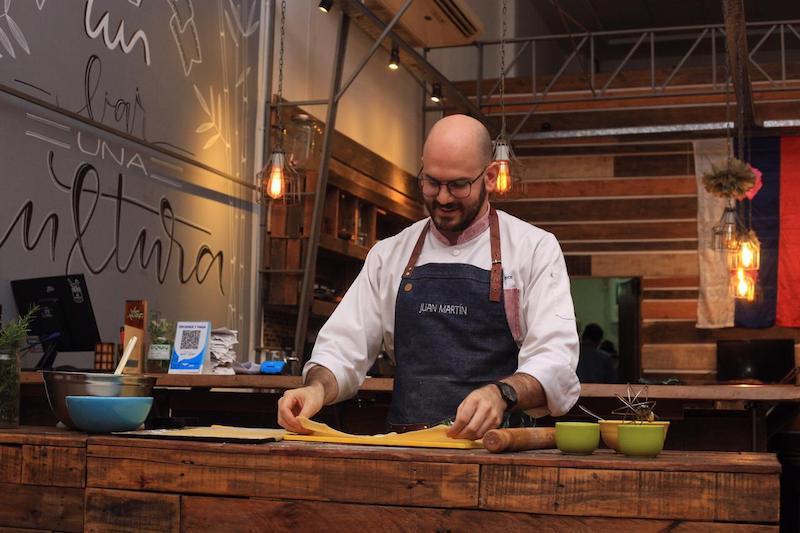cocina italiana - Juan Martin Pace
