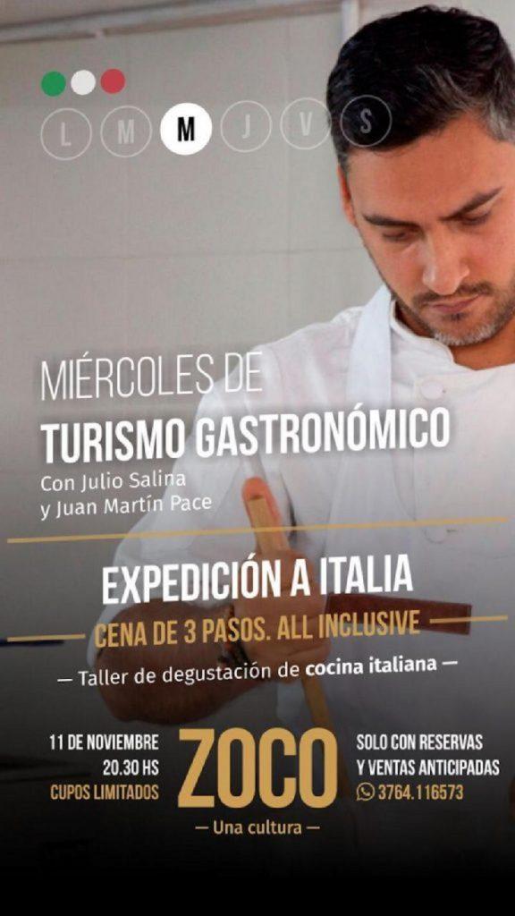 cocina italiana - Flyer De Cocina Italiana