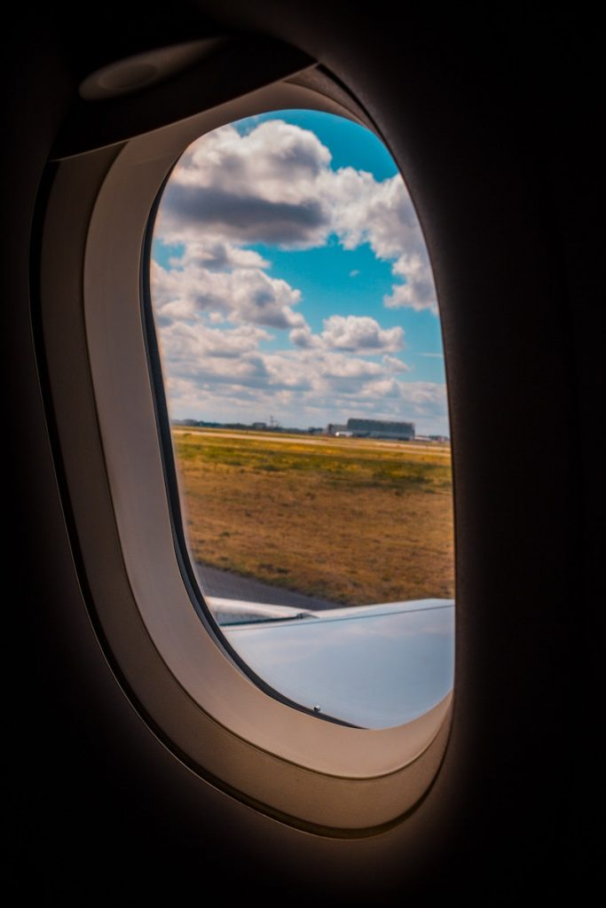 destino seguro - Ventana De Avion