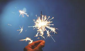 Fin de año - estrellas
