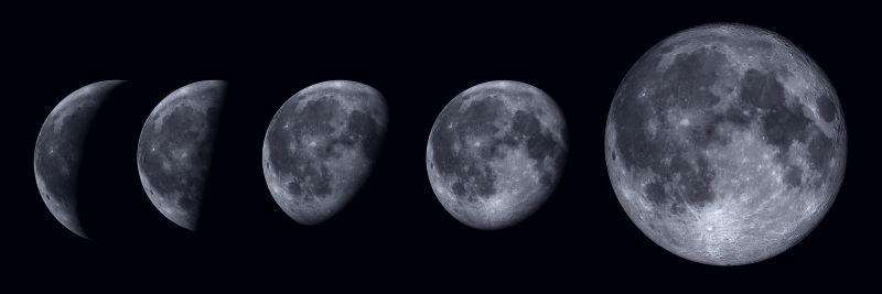 primer dia - Ciclo Lunar
