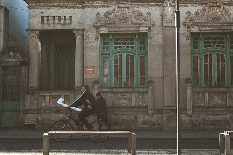 bicicleta - Bicicleta En La Ciudad