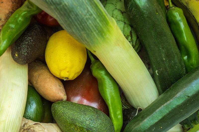 alimentos - Muchas Verduras