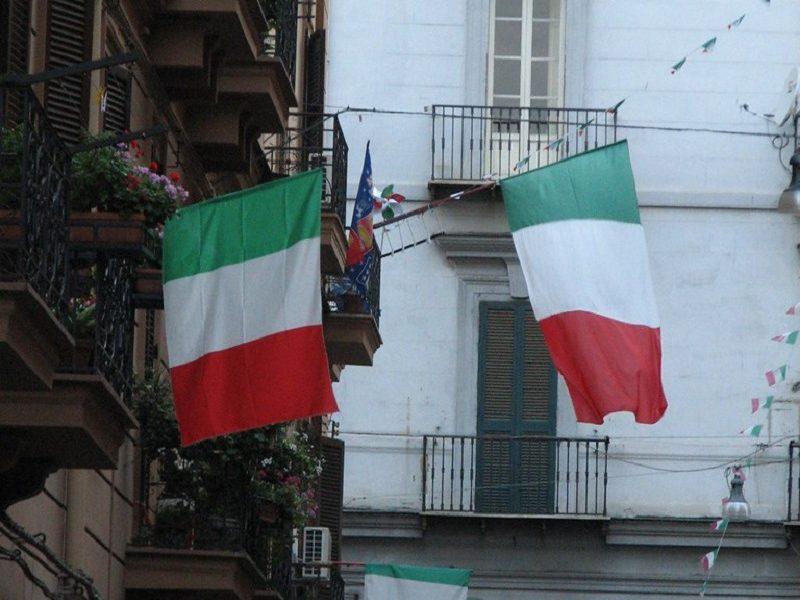 Inmigrante italiano - Banderas Italianas