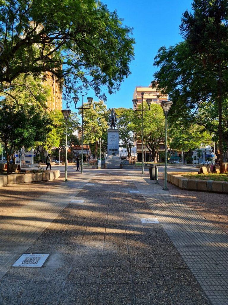 Camino Lector En La Plaza San Martin