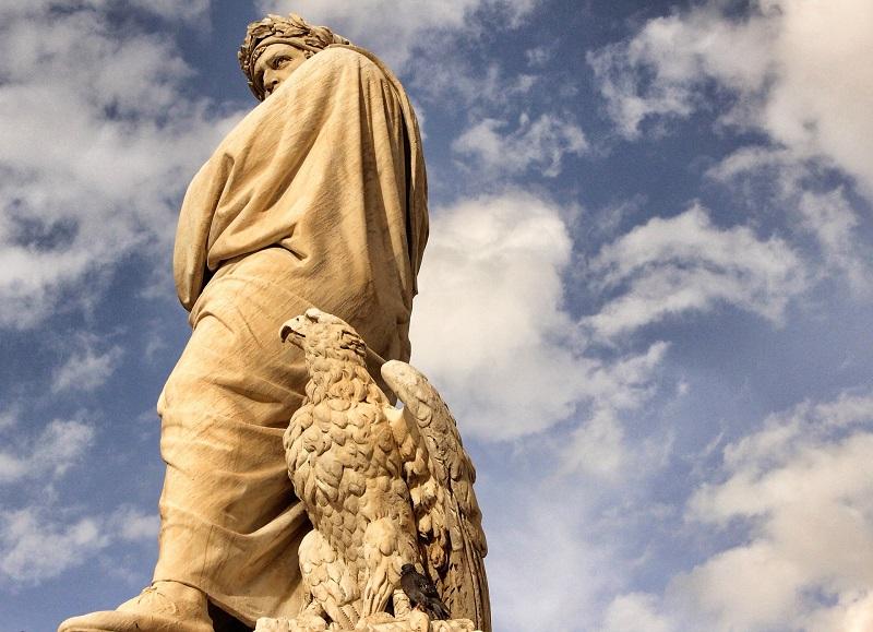 Dante - Estatua De Su Perfil Derecho