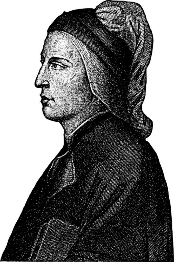 Dante - Dibujo De Perfil