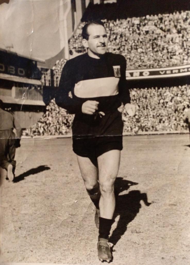 Tito Cucchiaroni - En Boca Juniors