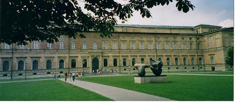 Alte Pinakothek Entrata