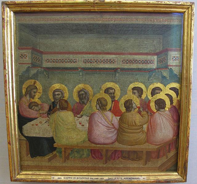 Alte Pinakothek - Giotto Ultima Cena