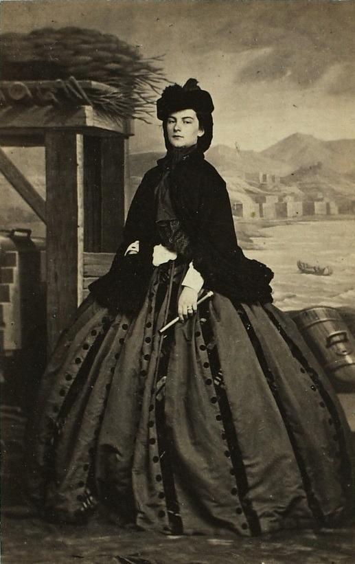 Maria Sofia Di Baviera Foto In Bianco E Nero