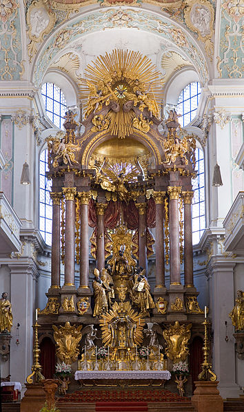 Peterskirche Munich St Peters Church Altar