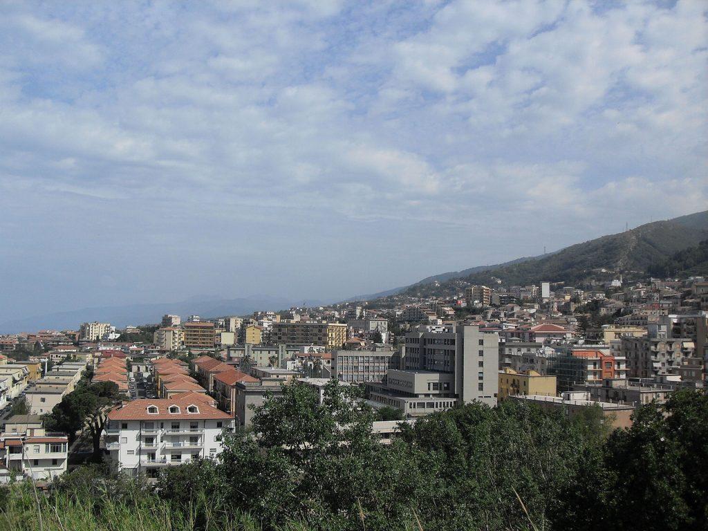 Panorama Della Citta Di Paola