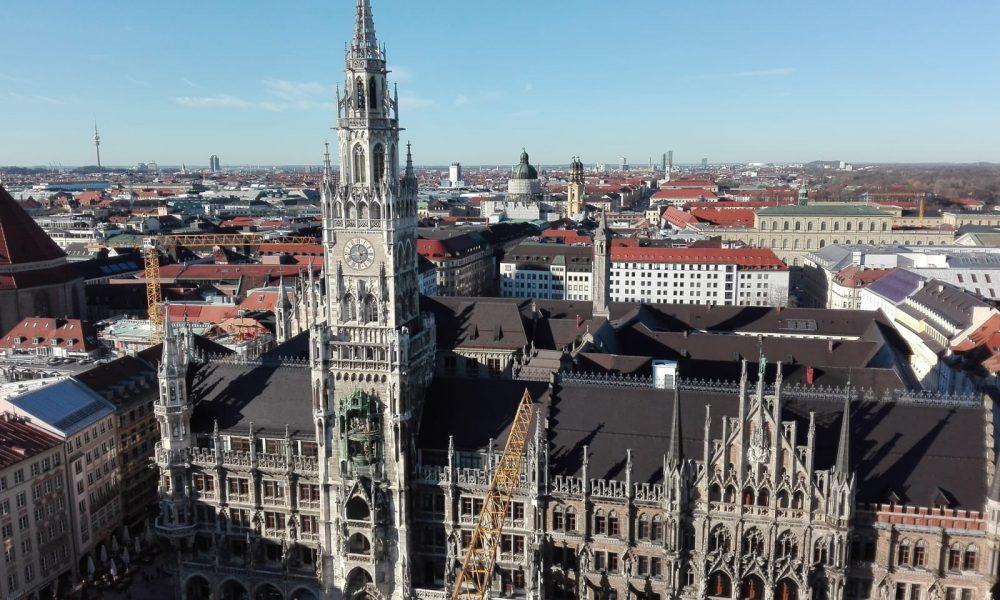 Neues Rathaus, Marienplatz, München