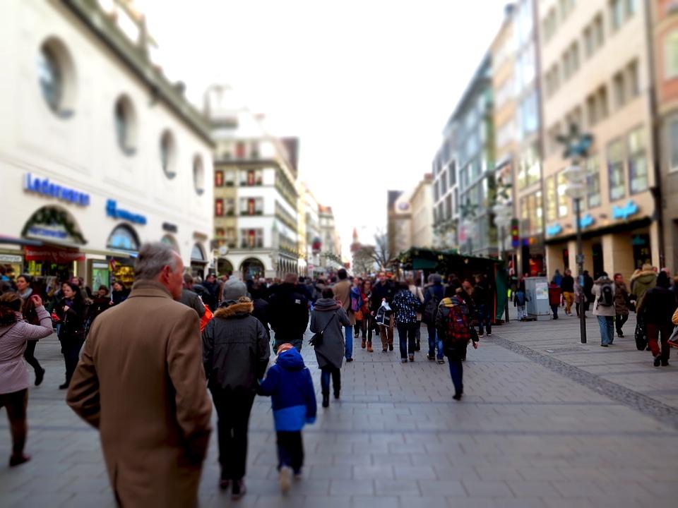 La lunga strada dello shopping: Stachus.