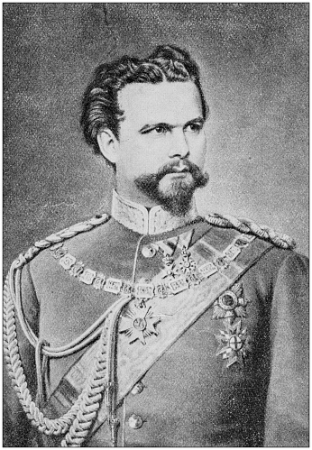 Antique Photograph Of People From The World: King Ludwig Ii, Bavaria