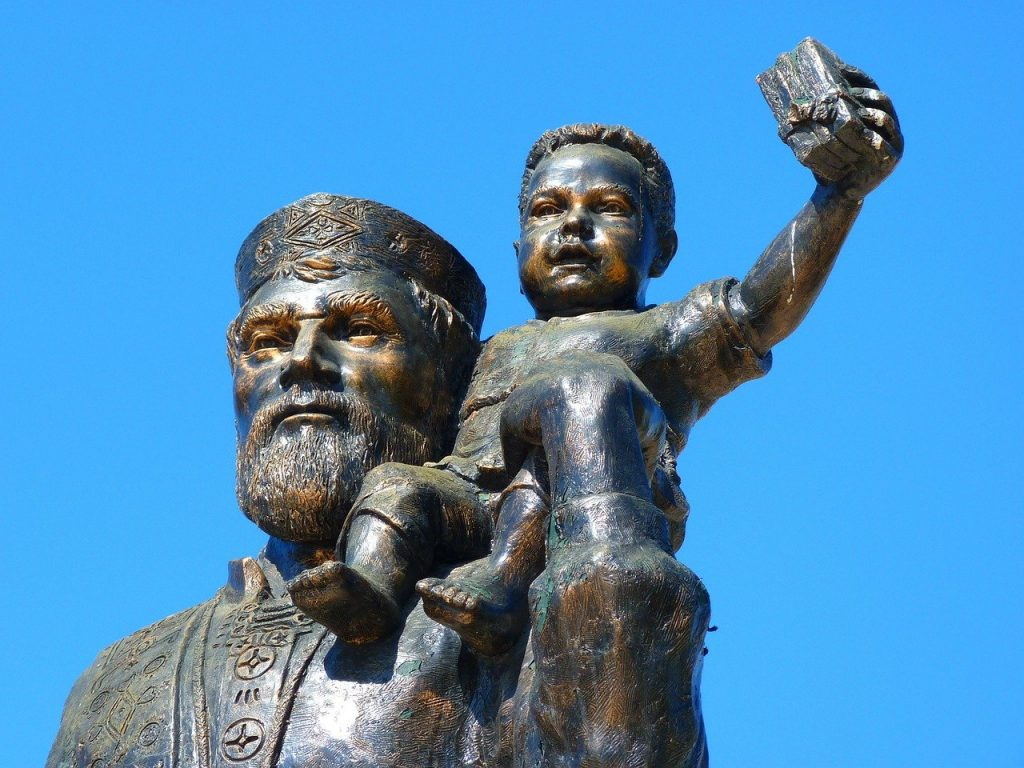 statua di Sankt Nikolaus
