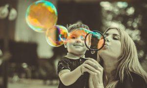 Coronavirus - Madre e hijo