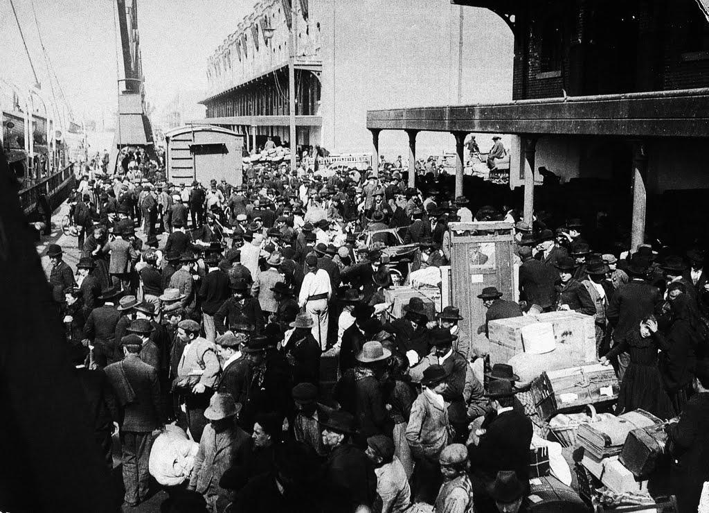 Inmigración italiana en Montevideo - Inmigrantes Italianos En El Puerto