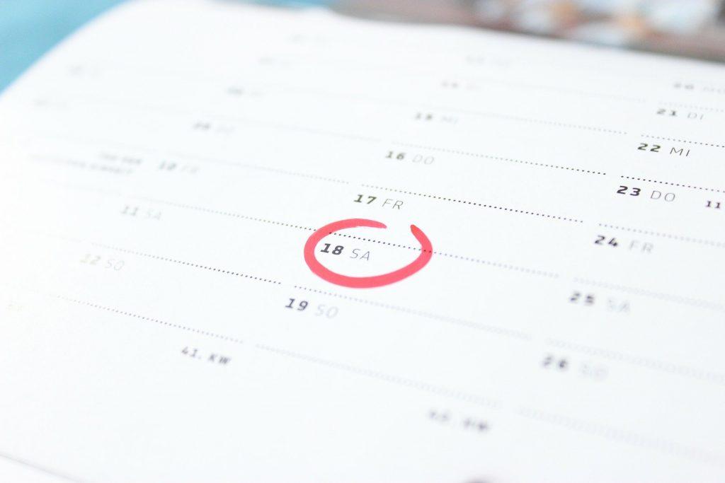 Ciudadanía - calendario