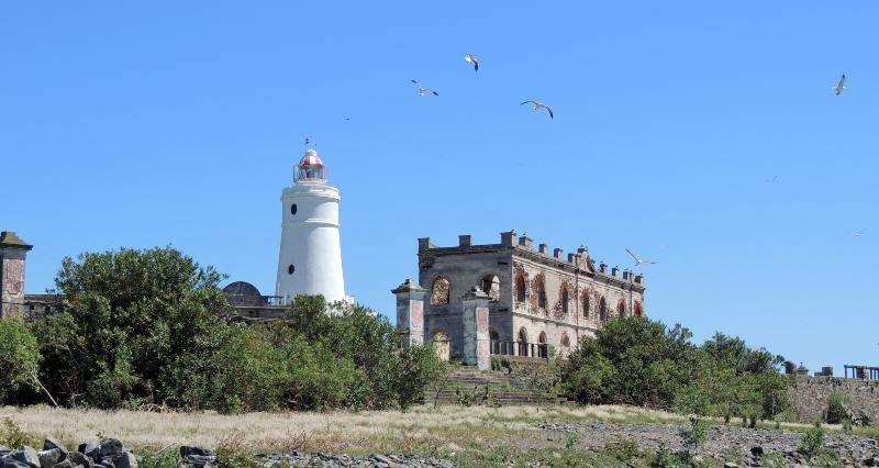 Isla - Faro Isla De Flores Y Construcciones. Matero Uruguayo Tres Wiki