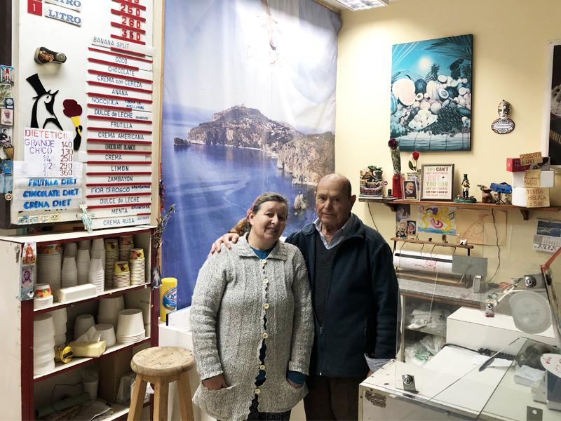 Italo Ciccariello - Con Su Esposa