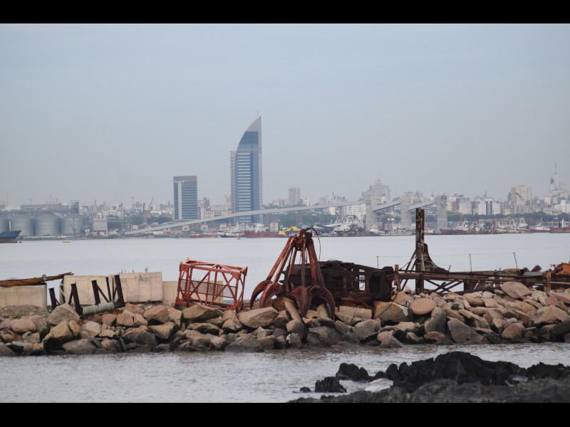 Palabras - Vista De La Bahia De Montevideo