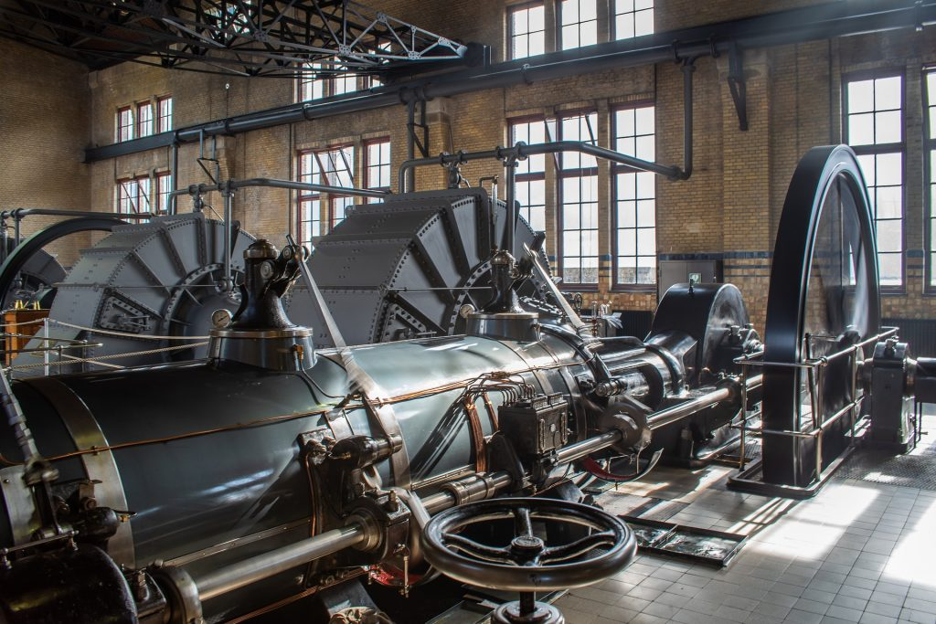 Patrimonio - Motor A Vapor