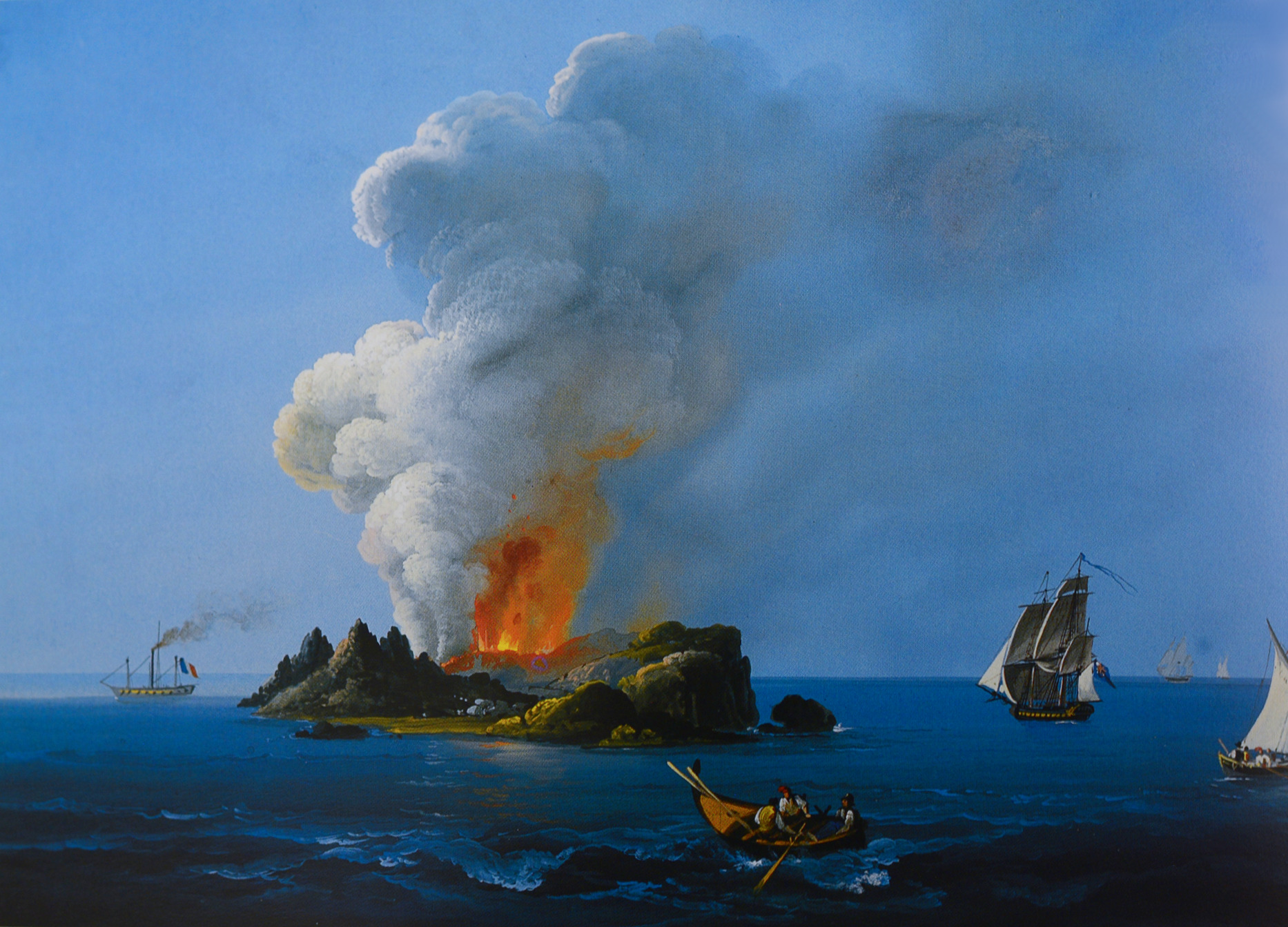 Carlo Gemmellaro - L'isola Ferdinandea