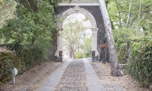 Monastero Benedettino Entrata