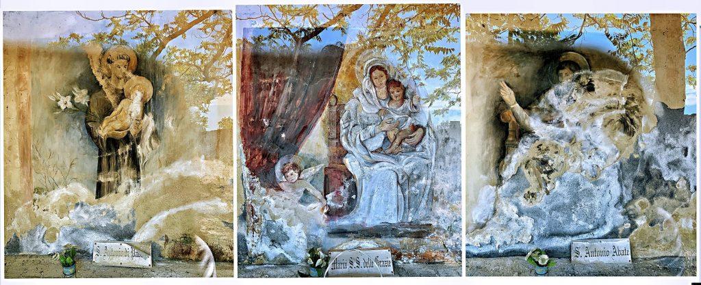 Tre Altarelli - Dipinti dei Tre Santi Protettori