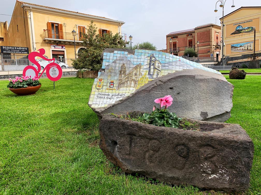 Giro d'Italia - Piazza Vittorio Emanuele In Occasione Del Giro D'italia