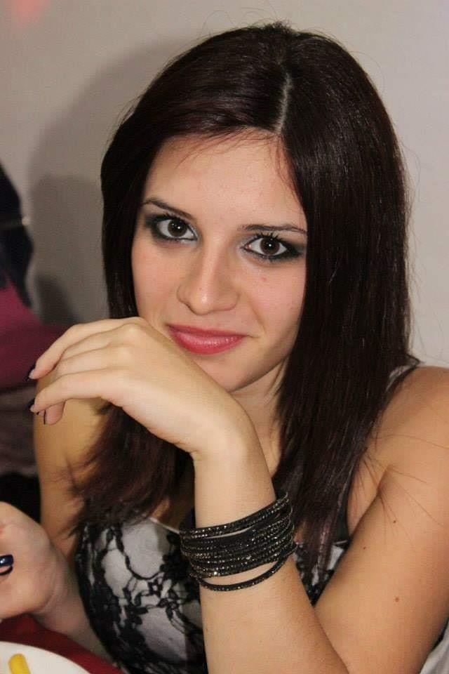 Giordana Di Stefano immortalata con un sorriso