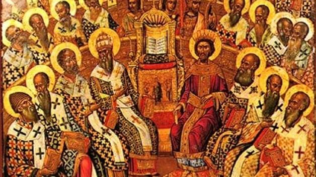 Madonna della Cintura - Monaci Agostiniani in dipinto antico