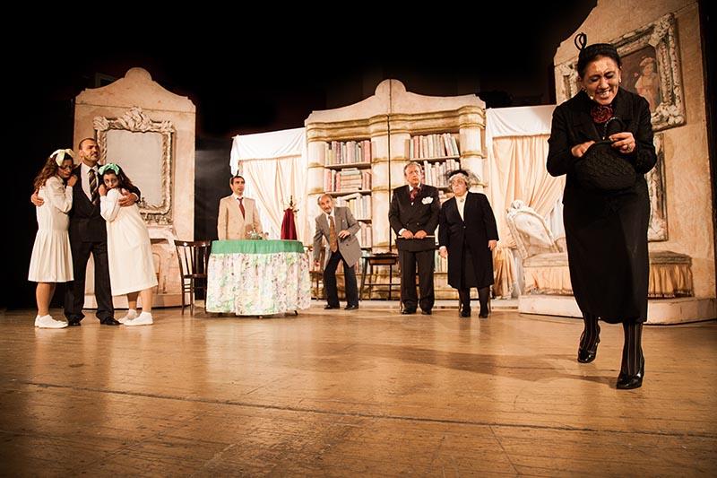 Giornata Mondiale del teatro - Attori sul palcoscenico
