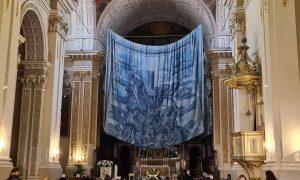 Dipinto su tela dentro ad una chiesa
