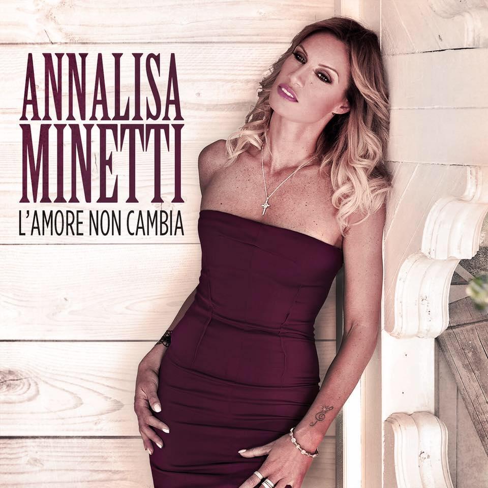 Foto della cantante Annalisa Minetti