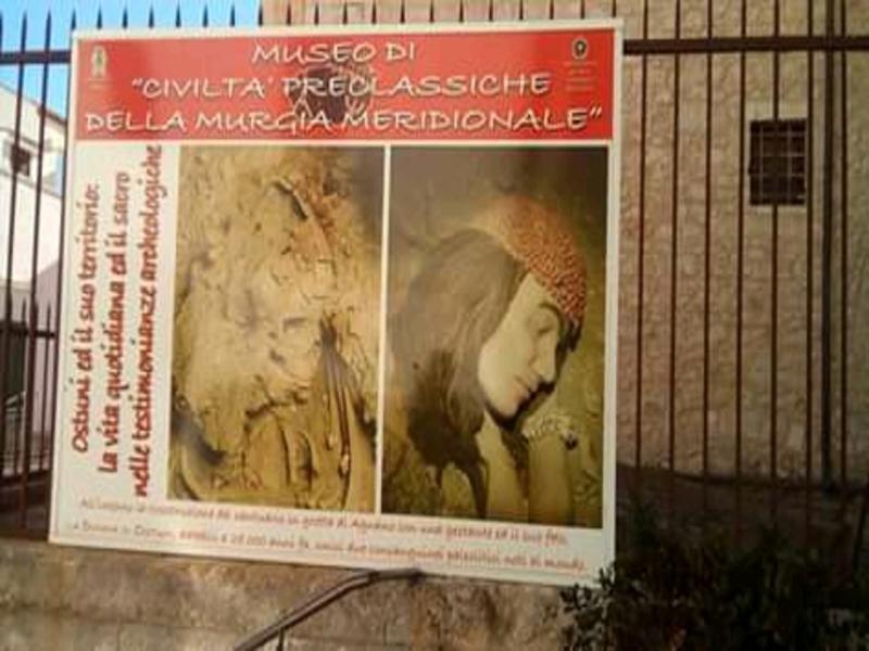Ingresso Al Museo Civico di Ostuni