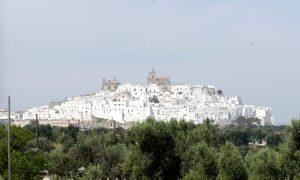 centro storico: vista di ostuni