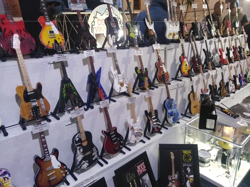 chitarre in miniatura
