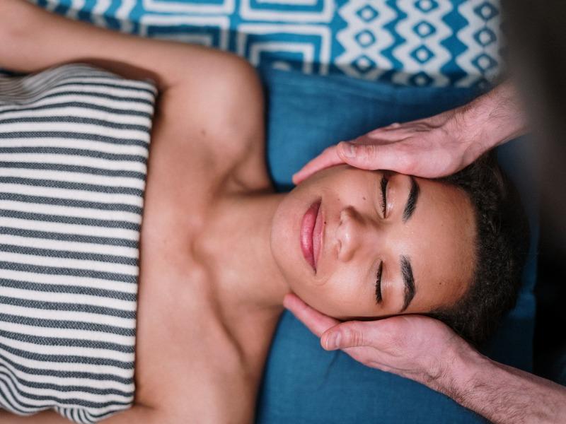Massaggi in primo piano